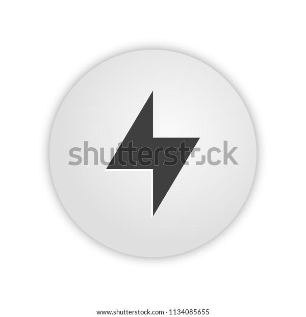 Bolt App Icon Stock Vector Royalty Free 1134085655
