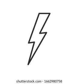Bolt Icon for Graphic Design Projects