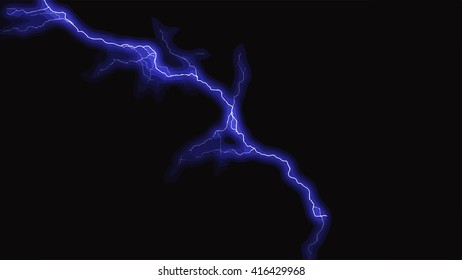 bolt lightning sparks electricity dramatic background