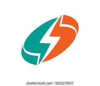 Bolt Logo Template Design Vector, Emblem, Design Concept, Creative Symbol, Icon