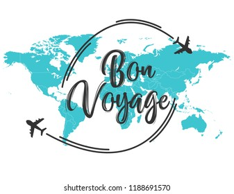 Bon Voyage inscription quote