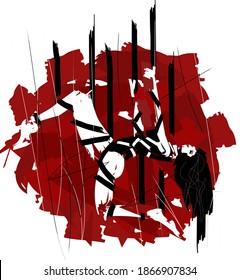 bondage shibari tied up sensual woman