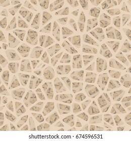 Bone inside structure seamless pattern. And also includes EPS 10 vector