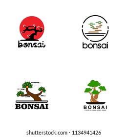 Bonsai Logo Images Stock Photos Vectors Shutterstock