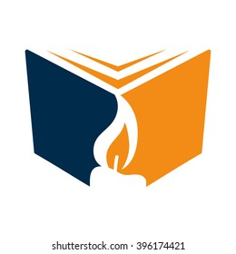 Book and Candle Logo