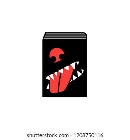 Book, comedy, literary icon. Element of literary genres icon for mobile concept and web apps. Detailed Book, comedy, literary icon can be used for web and mobile