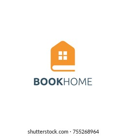 Book Home logo design.