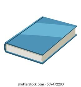 Book icon. Cartoon illustration of book vector icon for web design