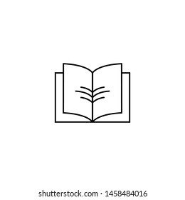 Book icon design vector template
