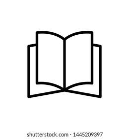 book icon, illustration, logo design
