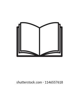 Book icon sign symbol trendy