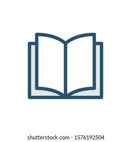 Book Icon Vector Design Illustration