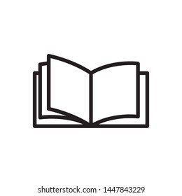 book icon vector design template
