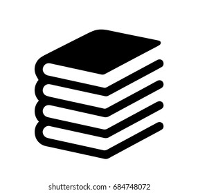 Book icon - vector illustration