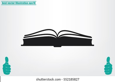 book icon vector illustration eps10.
