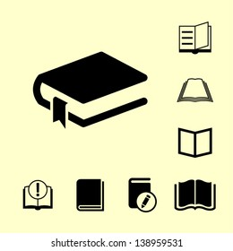 Book icon for web.
