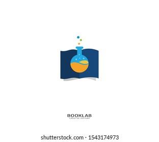 Book Lab Logo - Book  Science Logo