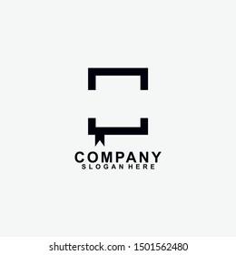 Book logo design. isolated in white background. book icon. modern design. vector illustration