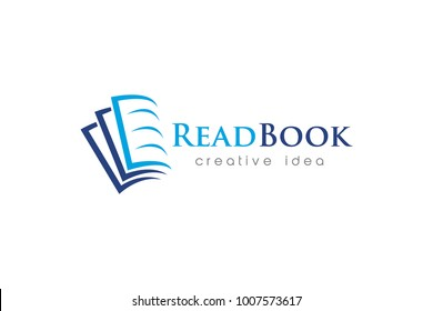Book Logo and Icon Template