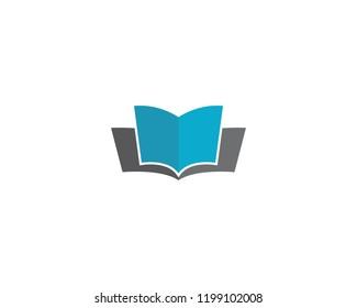 Book logo illustration