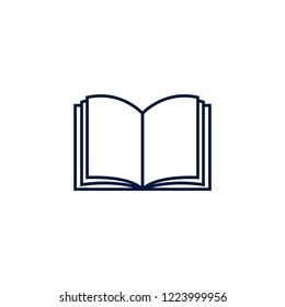 Book  Logo Vector Template