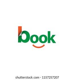 Book Logo Vector Template Design Illustration
