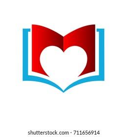 book love logo