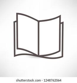 Book or magazine icon