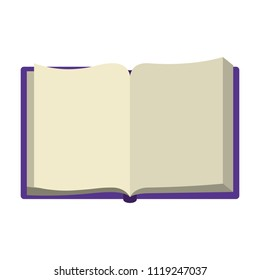 book open isolated icon