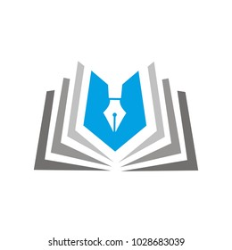 book pen logo