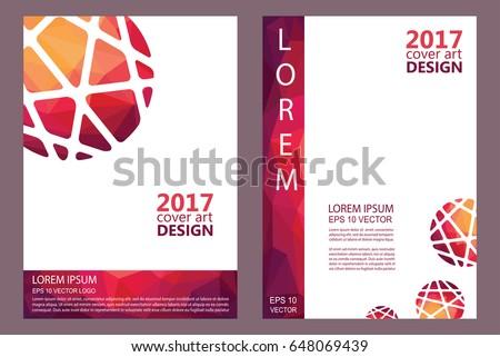 Book Report Notepad Cover Art Design Stock Vektorgrafik Lizenzfrei