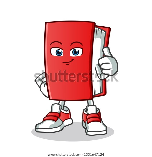 Book Thumbs Mascot Vector Cartoon Illustration Stock Vector Royalty Free 1331647124 The site is in full compliance with 18 usc section 2257. shutterstock
