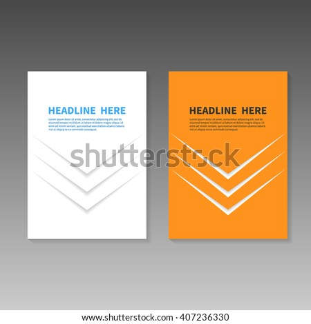 Book title page business report booklet stock vector royalty free book title page business report or booklet cover brochure layout template poster friedricerecipe Choice Image
