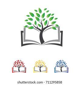 book tree logo