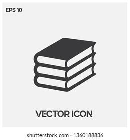 Book vector icon illustration. Ui/Ux. Premium quality.