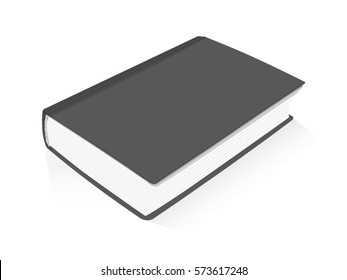 book for your design. Easy to change colors EPS10 Mock Up