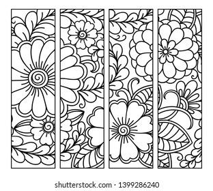 Printable Bookmark Images Stock Photos Vectors Shutterstock