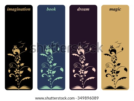 Book Mark Design Vector