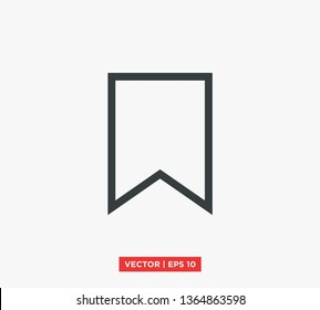 Bookmark Icon Vector Illustration