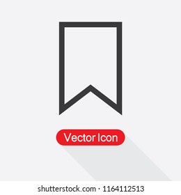 Bookmark Icon Vector Illustration Eps10