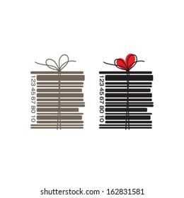 books bar-code concept