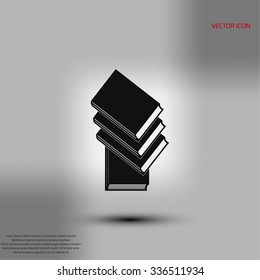 Books icons in vector.