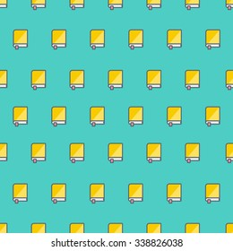 books pattern seamless flat modern style vector illustration for paper wrap and web design