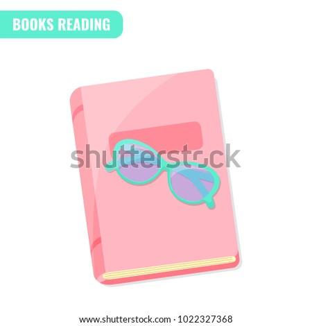 e4cf9a4e7a83 Books Reading Love Books Concept Book Stock Vector (Royalty Free ...