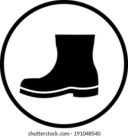 Hiking Boots Icon Images, Stock Photos \u0026 Vectors