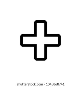 Medicinevector border icon. This icon use for admin panels, website, interfaces, mobile apps