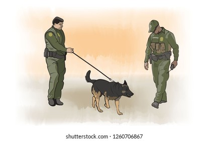 Border Patrol – K9 Unit