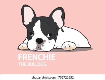 Boring French Bulldog Logo