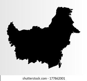 26+ Peta Kalimantan Png
