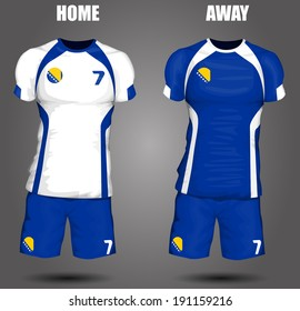 Bosnia and Herzegovina soccer jersey